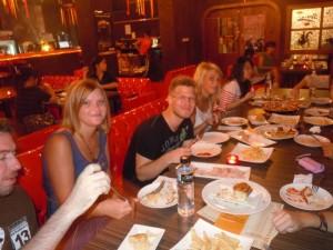 Spanish food & European friends
