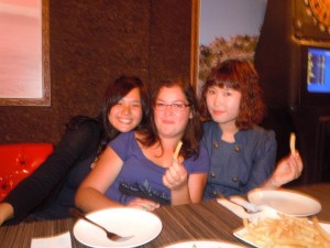 Left to right: Taiwanese, French, South Korean