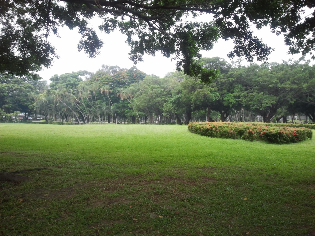 Outside Taichung Park