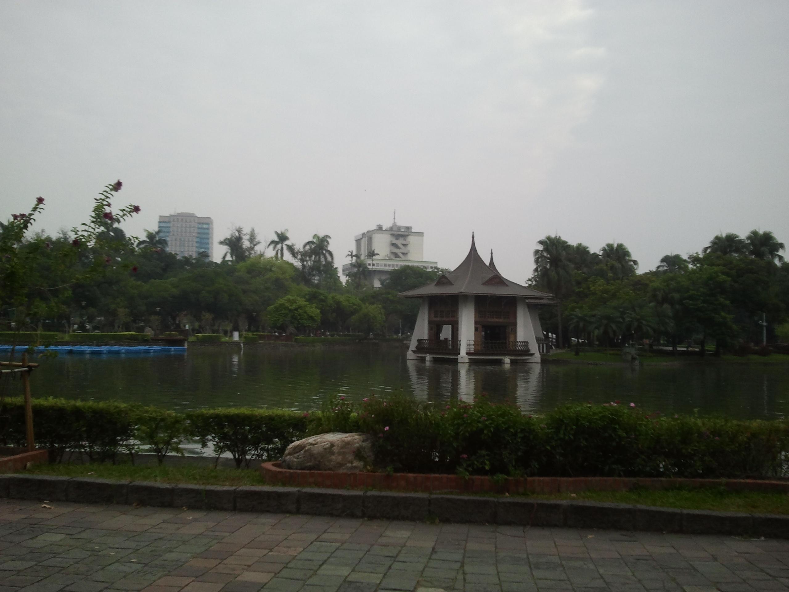 Taichung park, house