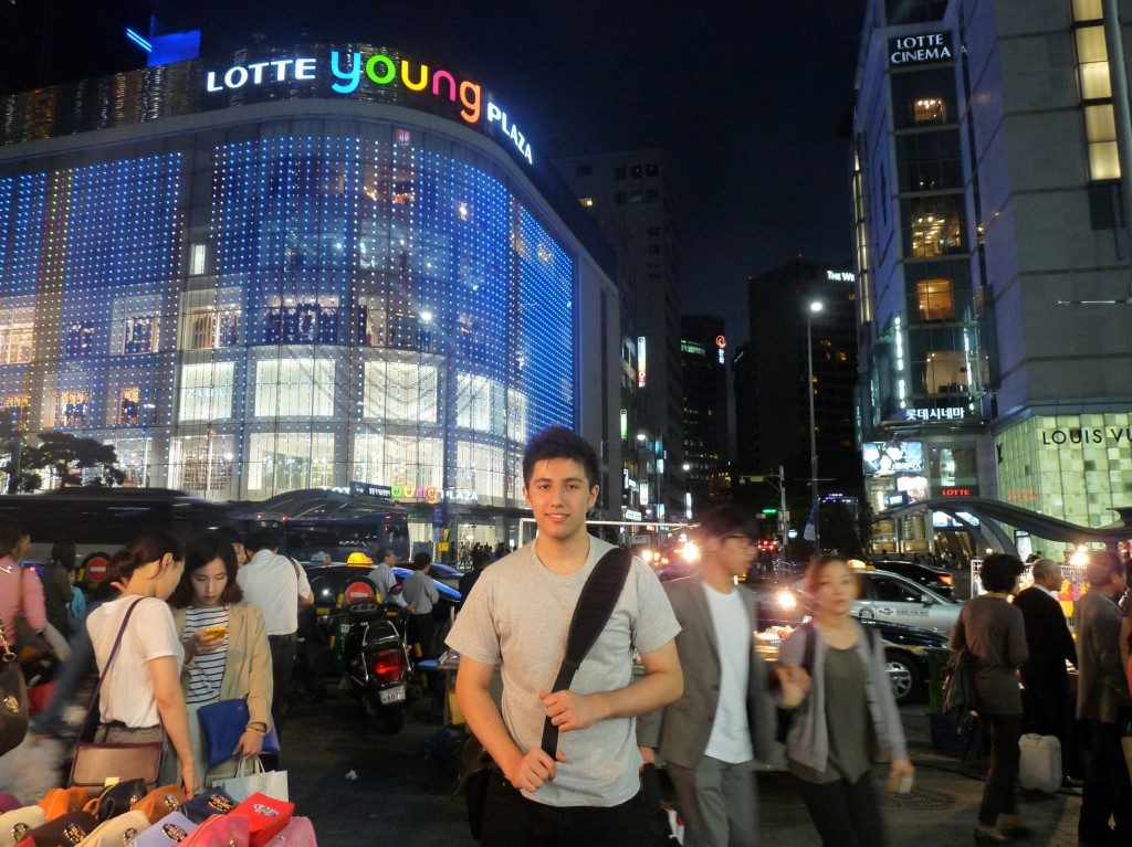 Myself at Dongdaemun