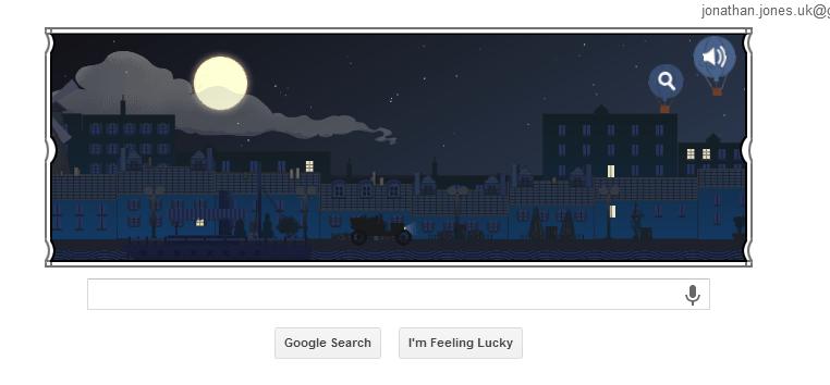 Google Doodle, Claude Debussy