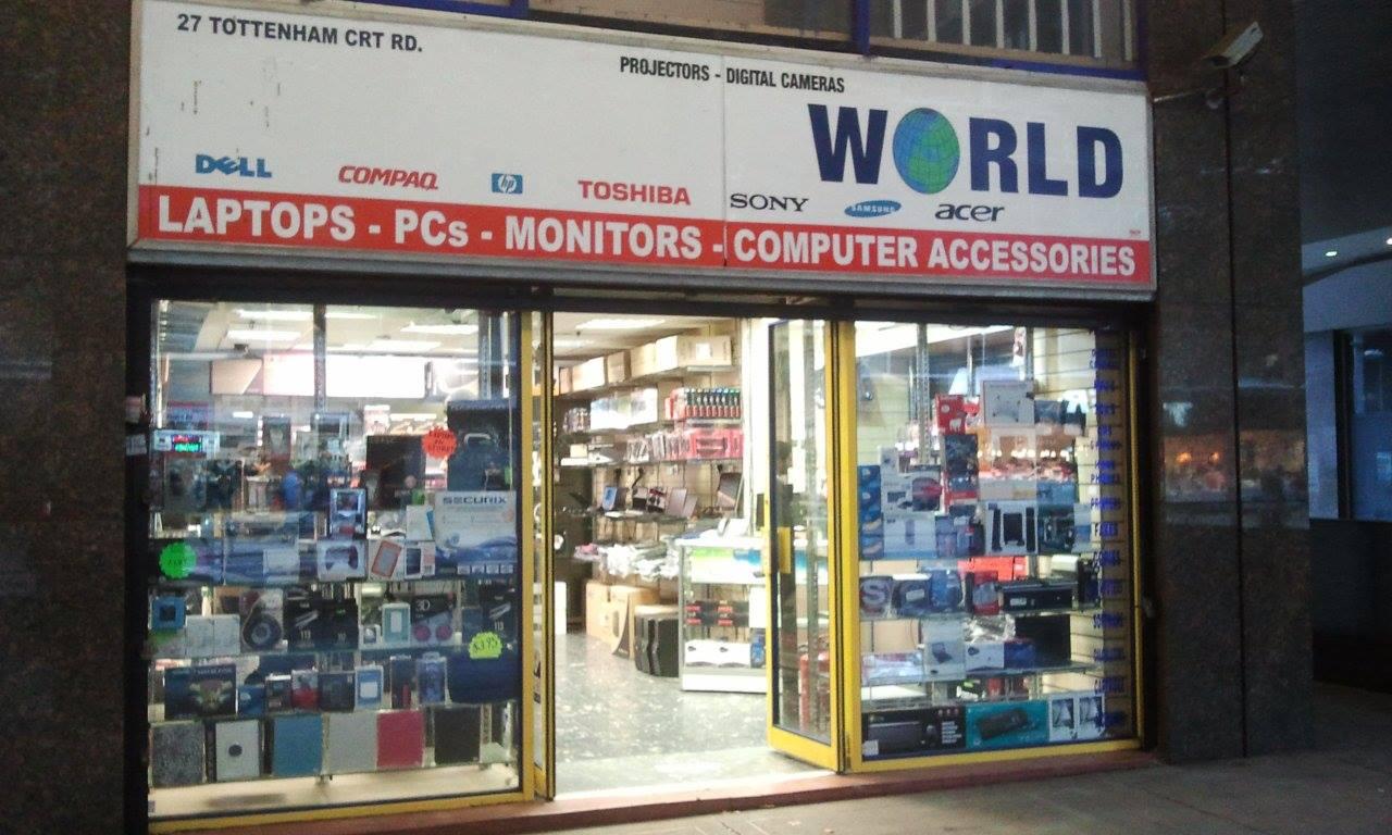 Latop Repair shop front