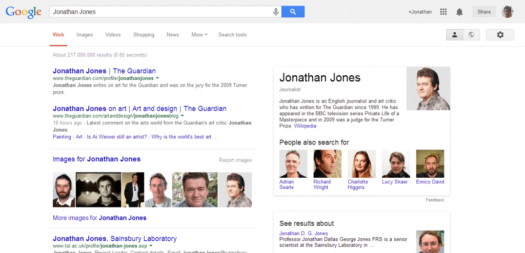 Google Jonathan Jones