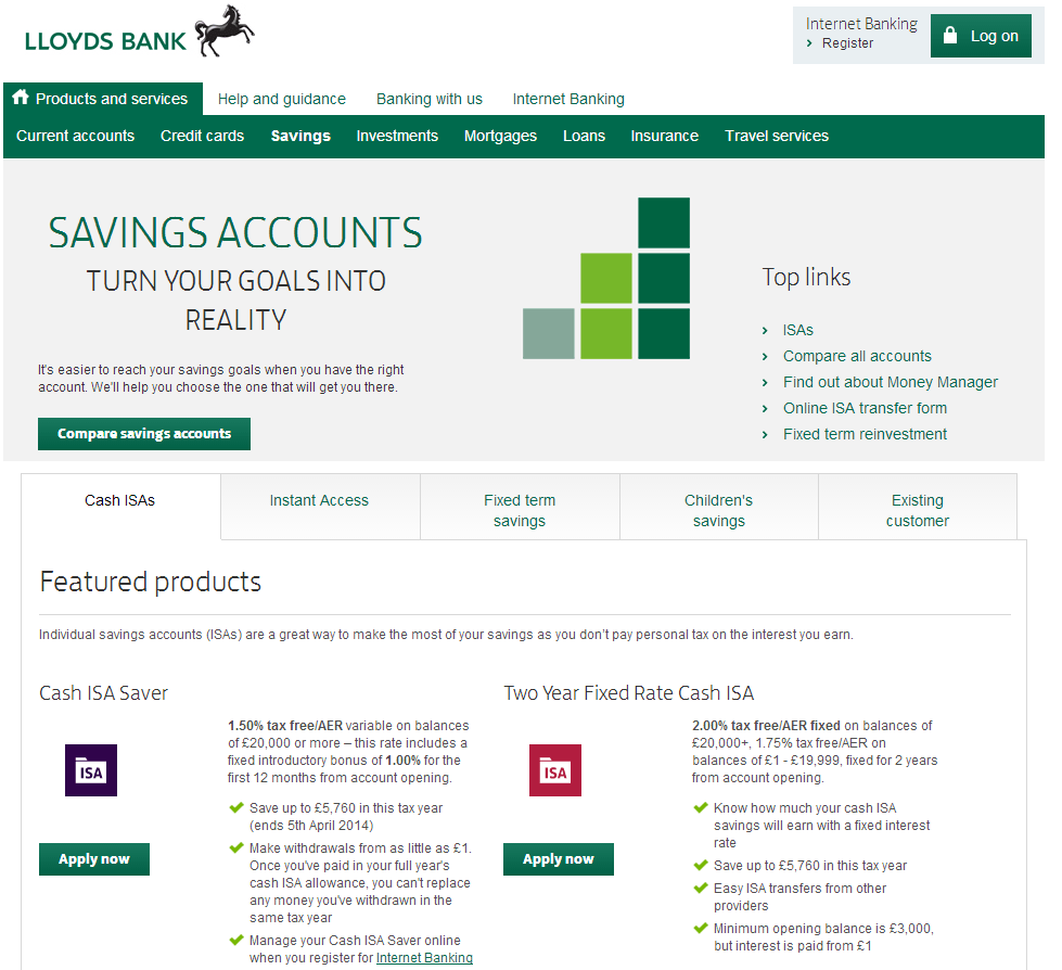 Best saving options ireland