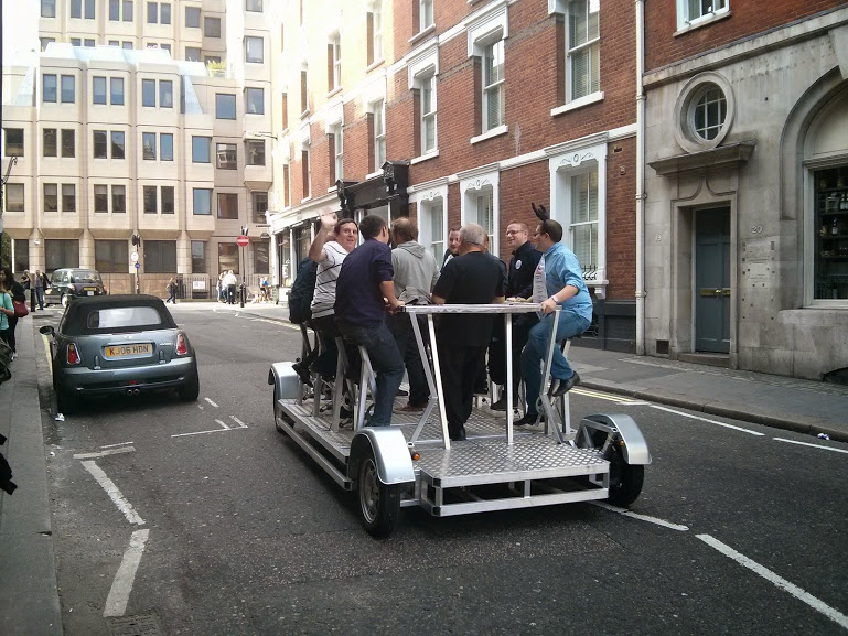 Behold-The-Human-Powered-Car in London