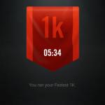 I ran 1k in 5:34