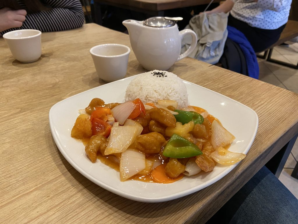 Hot Wok - Sweet and Sour Chicken